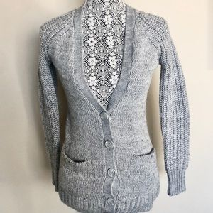 Anthropologie Between You & Me Wool Blend Cardigan